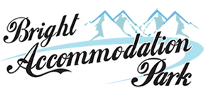 Bright Accommodation Park For cabins, caravans, and camping in the Great Alpine Valley
